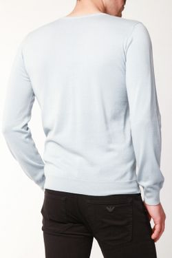 Пуловер Emporio Armani                                                                                                              синий цвет