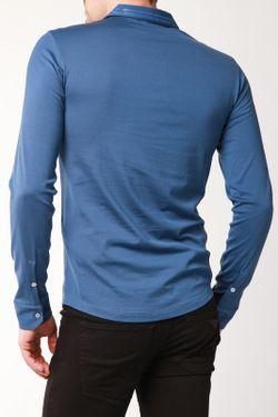 Рубашка-Поло Emporio Armani                                                                                                              синий цвет