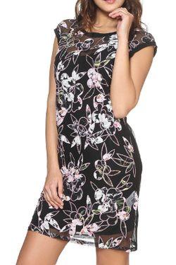 Платье Vdp Via Delle Perle                                                                                                              черный цвет