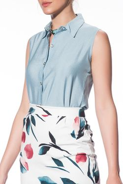 Блуза Pretty mark                                                                                                              синий цвет