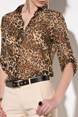 Блуза Pretty mark                                                                                                              коричневый цвет