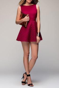Платье Ironi                                                                                                              красный цвет