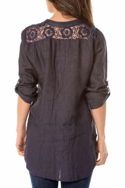 Рубашка La Belle Parisienne                                                                                                              синий цвет
