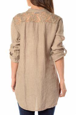 Рубашка La Belle Parisienne                                                                                                              бежевый цвет