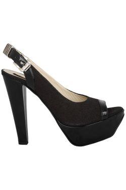 Босоножки Versace                                                                                                              чёрный цвет