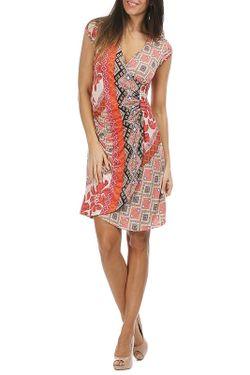 Платье ASTUCES                                                                                                              оранжевый цвет