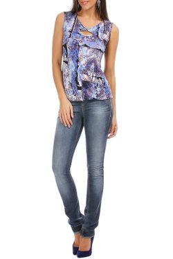 Блуза ASTUCES                                                                                                              многоцветный цвет