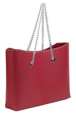 Сумка Almini Milano                                                                                                              красный цвет