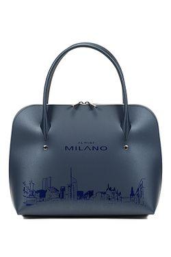 Сумка Almini Milano                                                                                                              синий цвет