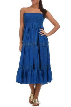 Платье Goa                                                                                                              синий цвет