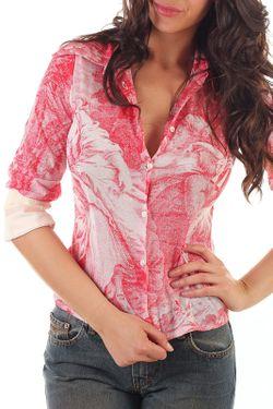 Блуза 684-Custo                                                                                                              бежевый цвет