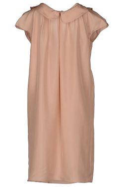Платье Miu Miu                                                                                                              бежевый цвет