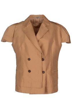 Блейзер Bottega Veneta                                                                                                              коричневый цвет