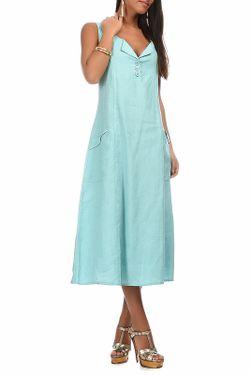Платье Eva tralala                                                                                                              синий цвет