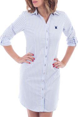 Платье Polo Club                                                                                                              белый цвет