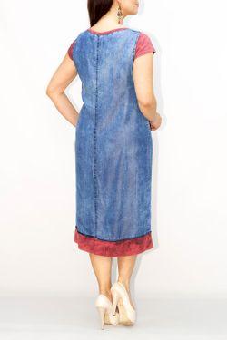 Платье Exline                                                                                                              синий цвет