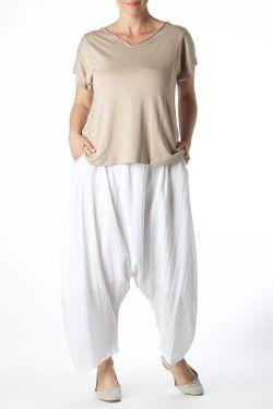 Брюки Zedd Plus                                                                                                              белый цвет