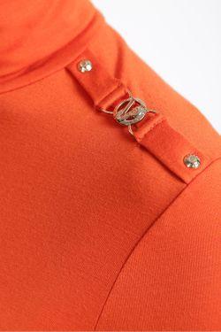 Футболка Versace Jeans Couture                                                                                                              оранжевый цвет