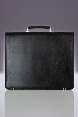 Портфель Solier                                                                                                              черный цвет