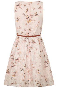 Платье Yumi                                                                                                              розовый цвет