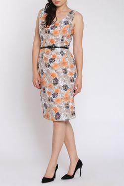 Платье Moda Di Chiara                                                                                                              бежевый цвет