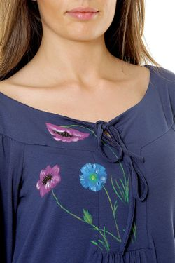 Блуза Selfie                                                                                                              синий цвет