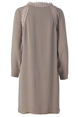 Платье WHIITE COPENHAGEN                                                                                                              коричневый цвет