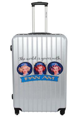 Комплект PANAM AIRLINES                                                                                                              Серебряный цвет