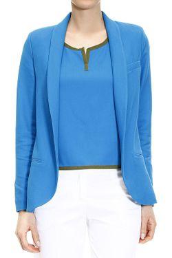 Блейзер Manila Grace                                                                                                              синий цвет