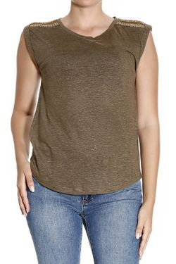 Блуза Michael Michael Kors                                                                                                              коричневый цвет