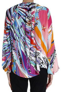 Блуза Emilio Pucci                                                                                                              многоцветный цвет