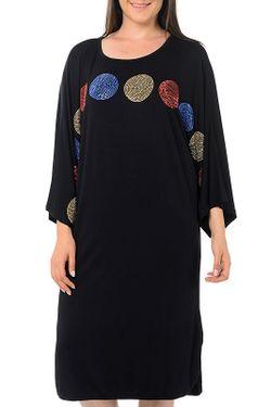 Платье Milanesse                                                                                                              черный цвет