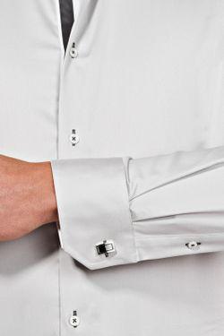 Рубашка Vincenzo Boretti                                                                                                              серый цвет