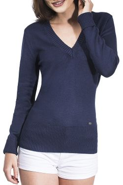 Пуловер Vincenzo Boretti                                                                                                              синий цвет