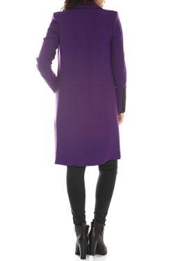 Пальто Emma Monti                                                                                                              фиолетовый цвет