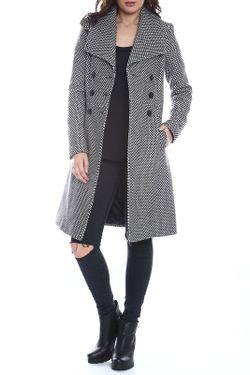 Пальто Moda Di Chiara                                                                                                              белый цвет