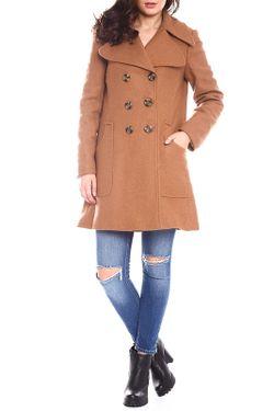 Пальто Moda Di Chiara                                                                                                              коричневый цвет