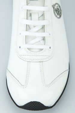 Сникерсы ARMANI JEANS                                                                                                              белый цвет