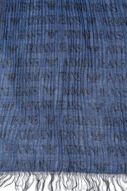 Шарф ARMANI JEANS                                                                                                              синий цвет