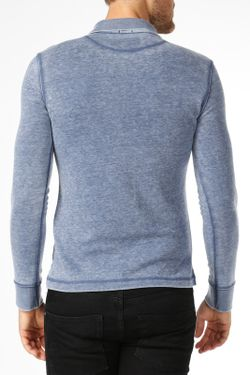 Рубашка-Поло ARMANI JEANS                                                                                                              синий цвет