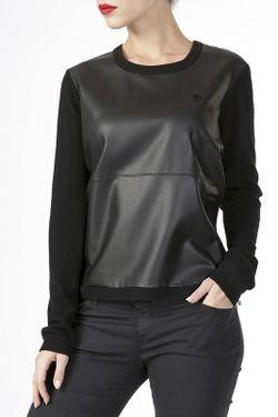 Пуловер ARMANI JEANS                                                                                                              черный цвет