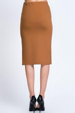Юбка Dilvin                                                                                                              коричневый цвет
