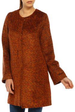 Пальто Dilvin                                                                                                              оранжевый цвет