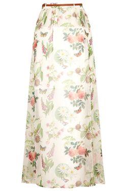 Юбка Yumi                                                                                                              белый цвет