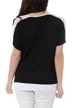 Туника Milanesse                                                                                                              черный цвет