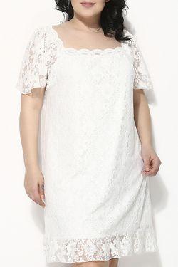 Платье Zer Otanik                                                                                                              белый цвет