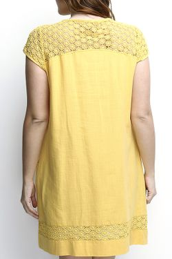 Платье Zer Otanik                                                                                                              желтый цвет