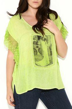 Блузка Zer Otanik                                                                                                              зелёный цвет