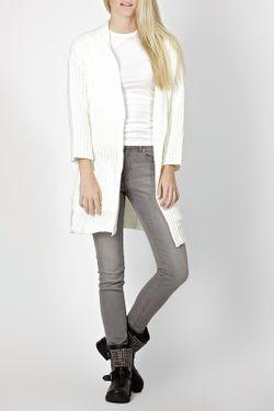 Кардиган Zedd Plus                                                                                                              белый цвет