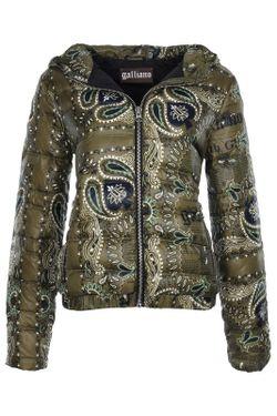 Куртка Galliano                                                                                                              зелёный цвет